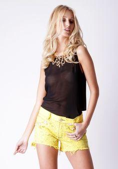 Shorts Slim Estilete Fashion | Lança Perfume