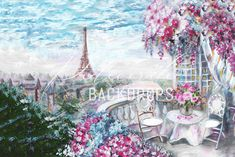 Fundal foto Love in Paris Instrumental, Paris Cafe, City Landscape, Abstract Canvas, Live, Flower Patterns, Cross Stitch Patterns, Photo Art, Backdrops