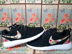 Nike Roshe laufen Blumen MädchenDamen von