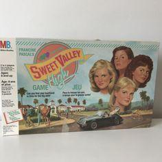 vintage Sweet Valley High board game vintage board by madstonandco