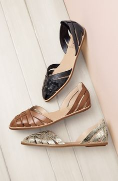 These d'Orsay flats from Vince Camuto are absolutely perfect for spring! @nordstrom