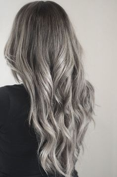 Preparing for silver highlights and dip-dye