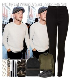 """Fall Day Out Walking Around London with Niall"" by elise-22 ❤ liked on Polyvore featuring Topshop, River Island, Gucci, NIKE, MAC Cosmetics, shu uemura, NARS Cosmetics and ASOS"