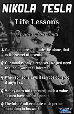 Scientist q - Nikola Tesla - Quotes Wisdom Quotes, Quotes To Live By, Life Quotes, Quotes Quotes, The Words, Nikola Tesla Quotes, Nicolas Tesla, Motivational Quotes, Inspirational Quotes