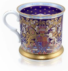 A mug from the official range of commemorative china which has been made ready to celebrate the Queen becoming the longest reigning monarch in British history; Queen Victoria reigned for 23,226 days, 16 hours and 23 minutes. Buckingham Palace says it cannot give a precise time of day when the Queen will overtake her, because the exact time of King George VI's death is unclear. He died in his sleep in the early hours of the morning