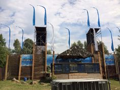 Main stage building