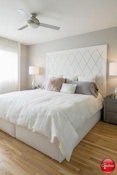 Du papier peint pour la tête de lit? Assurément! - Blog de Colobar Peinture & Décoration
