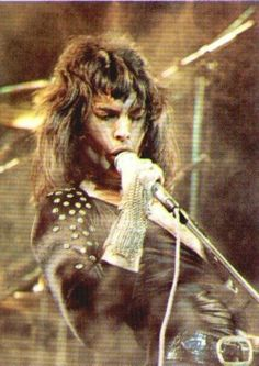 Flamboyant  Freddie Mercury