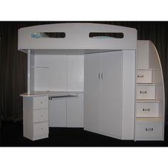 Octavia – Study Desk & Storage – White – Furniture 2 You