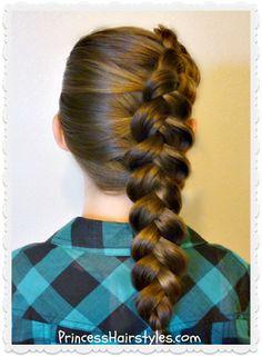 Pretty side dutch braid tutorial