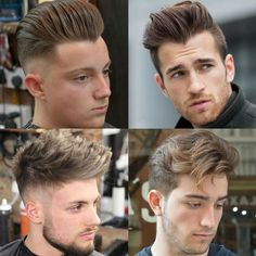 Men's Layered Haircut