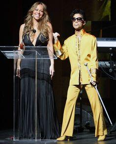 June 8, 2009: Singer Mariah Carey and Prince take center stage.