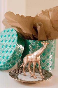Homemade holiday gift idea — The animal ring holder. #diy #christmas #gifts #homemade