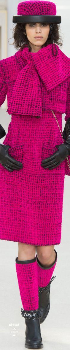 Chanel prêt-à-porter automne-hiver 2016-17 #Chanel #ChanelFallWinter2017…