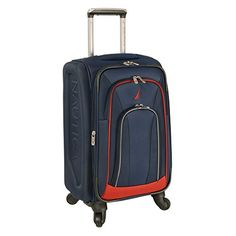 Nautica Timoneer 20 Inch Expandable Spinner NavyChili Pepper Red One Size * Check out this great product.