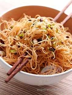 love Asian food especially Chinese noodles!