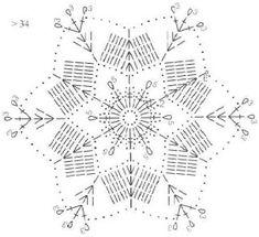 Tina's handicraft : 27 patterns for crochet motif Form Crochet, Thread Crochet, Crochet Motif, Crochet Doilies, Crochet Flowers, Knit Crochet, Crochet Patterns, Crochet Snowflake Pattern, Crochet Stars