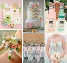 Mint and Pink Wedding Theme by Chastitie