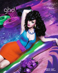 Katy Perry by David LaChapelle for ghd