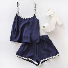 e fashion, outfit, and blue