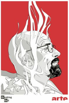 Breaking Bad / Illustration by Pajaud Arthur, via Behance