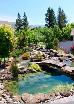 I want this in my backyard, add a waterfall and koi fish and it'll be perfect!