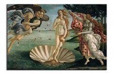 Sandro Botticelli : The Birth of Venus Canvas Print. Sandro Botticelli : The Birth of Venus Canvas Print-Klaar om op te hangen! Sandro, Birth Of Venus Botticelli, Galerie Des Offices, Venus Painting, Aphrodite Painting, Renaissance Kunst, Italian Renaissance Art, Renaissance Artists, Renaissance Paintings