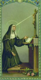 St. Rita of Cassia, Roman Catholic Augustinian Nun and She is the patroness of impossible cases. Her feast day is May 22