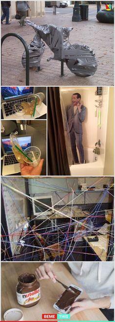 10+ Photos of People Acting Like Real Jerks #photos #prank #prankster #funny #realjerks