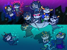 Find images and videos about homestuck and trolls on We Heart It - the app to get lost in what you love. Web Comics, Anime Comics, Homestuck Characters, Fictional Characters, House Characters, Serie Web, Homestuck Karkat, Cartoon N, Home Stuck