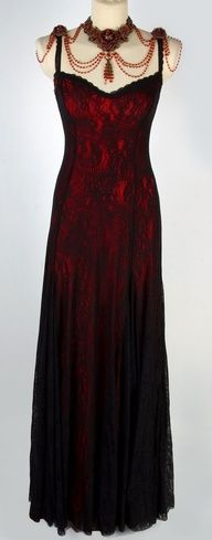 Victorian Style Michal Negrin Special Occasion Dress