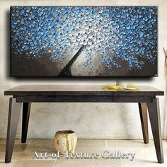 Large Oil Impasto Painting Original Abstract by artoftexture, $298.99