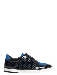 [DODOLUX] JIMMY CHOO- Klein Blue SYDNEY Sneakers 스니커즈