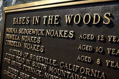Known as the Babes in the Woods murders, the bodies of three young girls — 12-year-old Norma Sedgwick and her two half sisters, Cordelia, 8, and Dewilla Noakes, 10 — were found by police in November 1934.