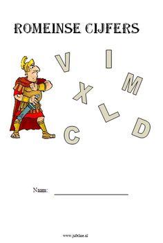 Werkboekje Romeinse cijfers  Middenbouw