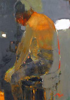 Queridos amigos, hoy os muestro el trabajo de una joven artista ucraniana llamada Alina Maksimenko, nacida en kiev en 1974 n...