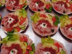 12_oblozene_misy_studene_misy_plockova Fresh Rolls, Mexican, Food Decorations, Ethnic Recipes, Mexicans