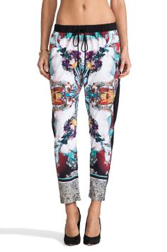 Clover Canyon Royal Horses Pants in Multi from REVOLVEclothing