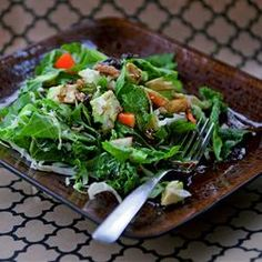 Winter Green Salad | Add some cooked chicken or shrimp, and this salad is a meal to itself.