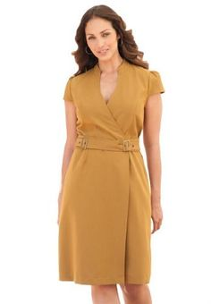 Jessica London Plus Size Wrap Sheath Dress Olive Moss,14 Jessica London,http://www.amazon.com/dp/B009A9Y8UK/ref=cm_sw_r_pi_dp_oc7srb04RT1GQ14J