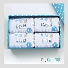 Chocolatinas personalizadas Bautizo / Comunión