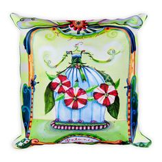NEW! pillows now on etsy from the paintings of Wendy Costa