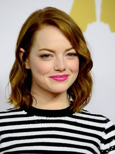Emma Stone's Natural Waves