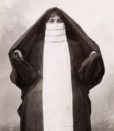 Egyptian woman from Cairo, c 1885