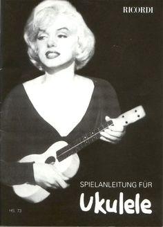 marilyn monroe ukulele - Google zoeken
