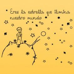 10 enseñanzas de El Principito en 10 frases | losojosdenoemi Little Prince Party, The Little Prince, St Exupery, Spanish Posters, Quotes En Espanol, Pregnancy Quotes, Mixed Media Journal, Dream Book, Sad Day