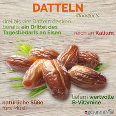 - the palm fruit from the Orient - Foodfacts -: Dates - the palm fruit from the Orient - Foodfacts - The 10 most popular nuts in the check- Nuts are considered small powerhouses and health wonders: The 10 most popular nuts in the check Raw Food Recipes, Diet Recipes, Healthy Recipes, Cooking Recipes, Challah, Vitamin C Foods, Bacon Wrapped Dates, Bacon Dates, Fresh Dates