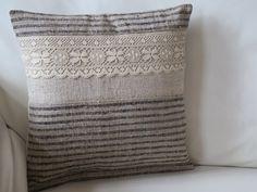 Antique  aus handgewebten Bauern-Leinen von Linenandtextiles19th