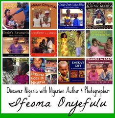Children's book author & photographer Ifeoma Onyefulu grew up in a traditional Nigerian village, and now shares stories village life in Nigeria. Preschool Literacy, Teaching Science, Teaching Kids, Preschool Books, Teaching Tools, Global Awareness, Kids Around The World, World Geography, Summer Reading Lists