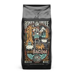 Bones Coffee Company - Maple Bacon Coffee - 16oz.